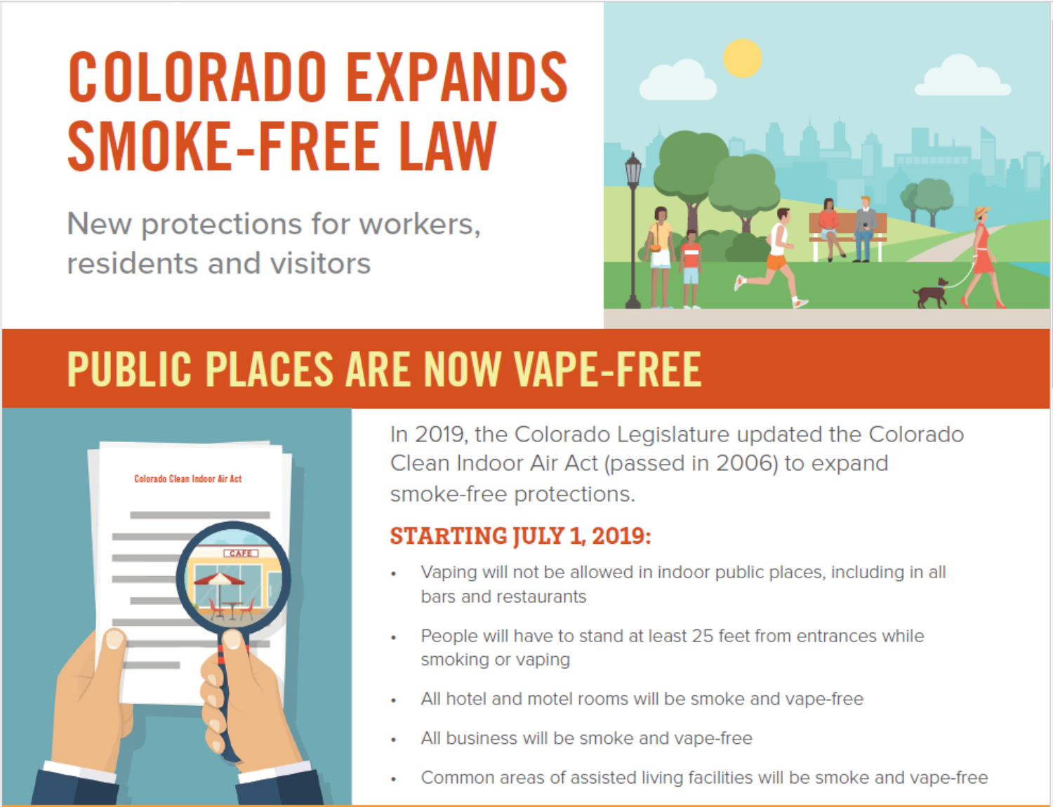 New State Law Expands Vaping Rules in the Colorado Clean