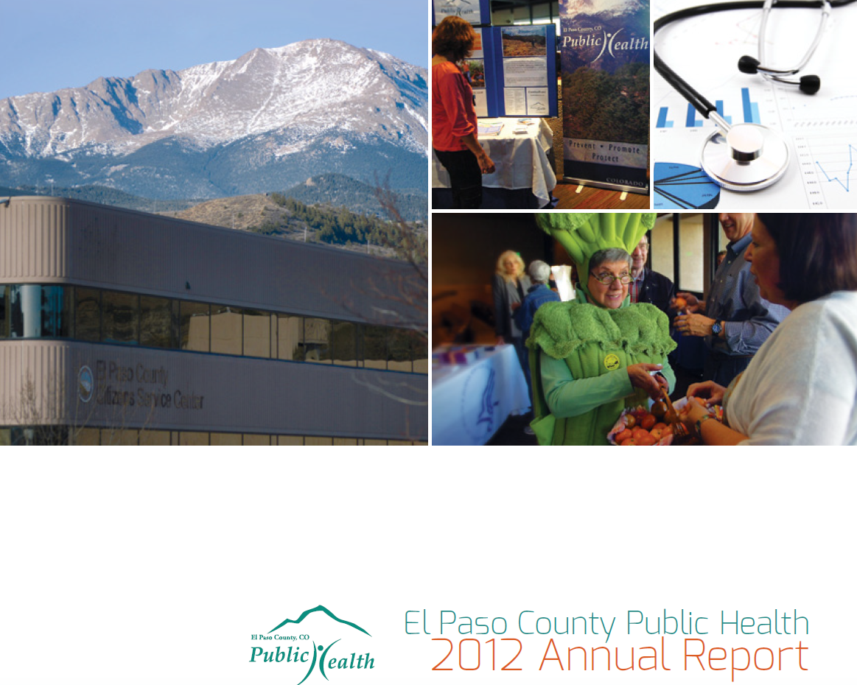 2012 Annual Report El Paso County Public Health